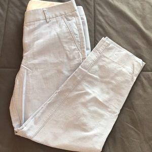 Light blue Jcrew pants